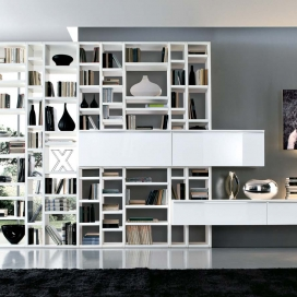 Misuraemme Crossing Bookcase