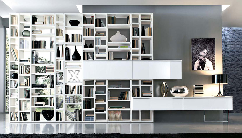 Homify Crossing Bookcase Article