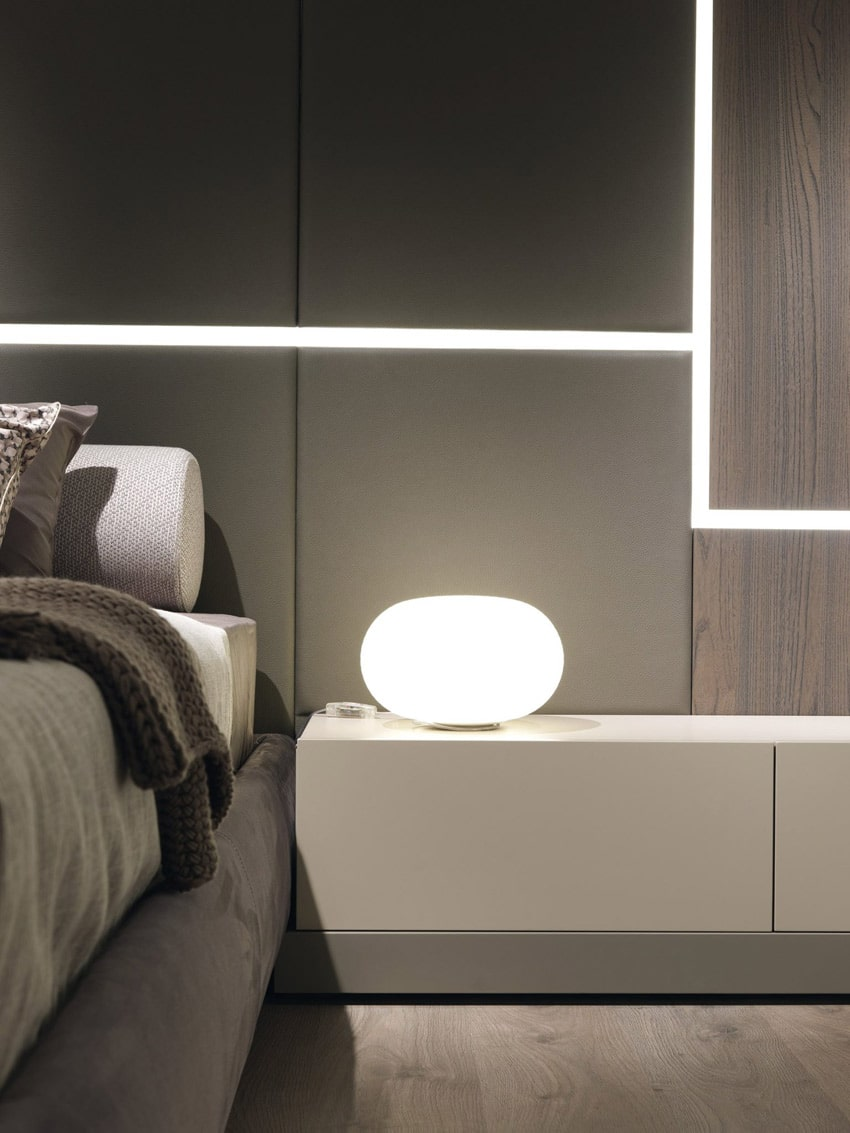 Misuraemme Ghiroletto Wall Panelling Bed Lamco